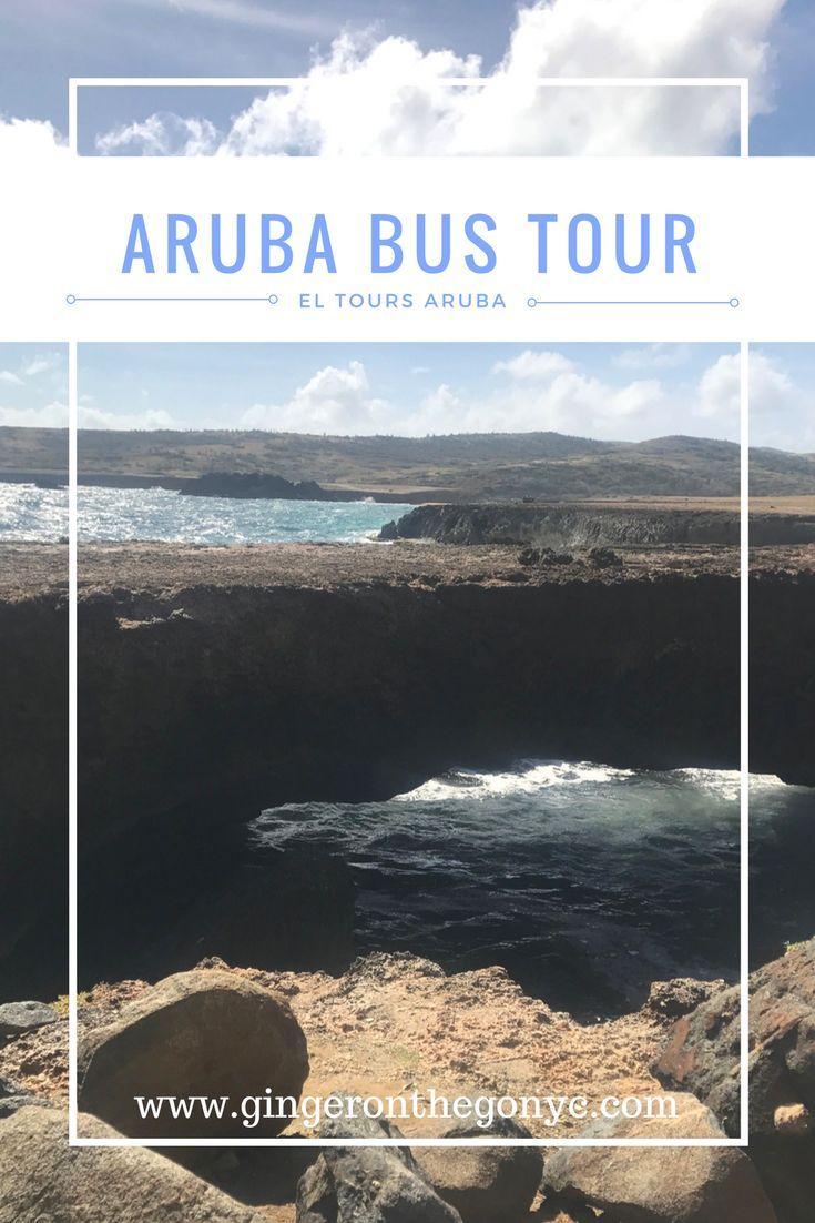 El Tours Aruba Bus Tour will take you to the Aloe Vera Plant, Casibari rock, the Natural Bridge, Alto Vista Chapel, California Lighthouse, and Arashi Beach.