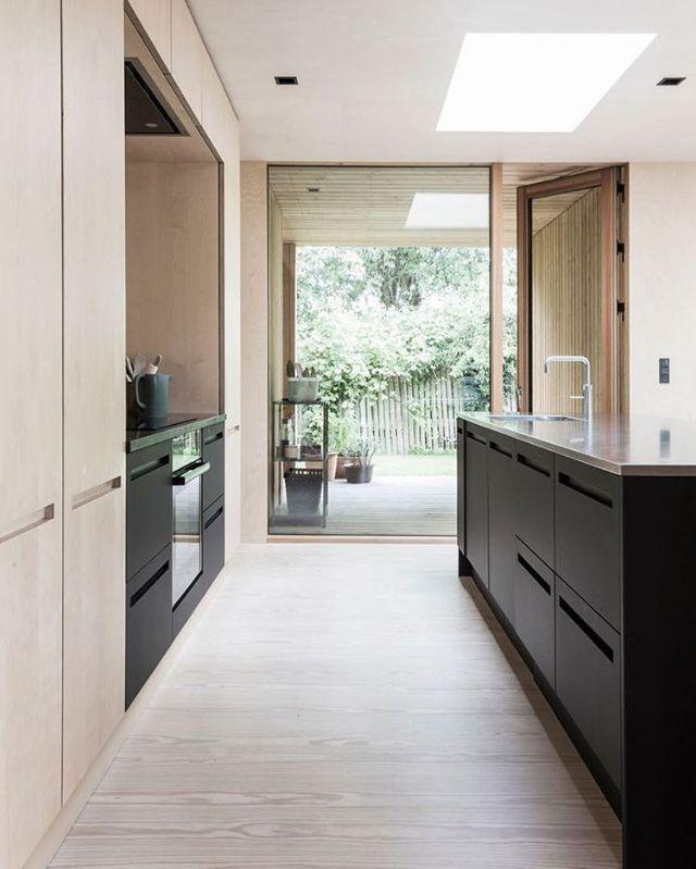 A stunning kitchen via Bobedre.Photography Andreas Mikkel Hansen