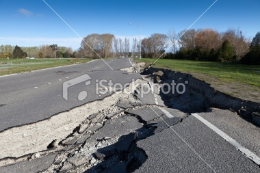 This road damage was caused by the magnitude 7.1 earthquake that occurred near Christchurch, New Zealand on 4 September 2010. Through the failure of the road, it shows the fragility of built infrastructure that we depend upon every day. What would happen if your business was unable to ship its products due to damaged road networks? How resilient would you be to an earthquake?