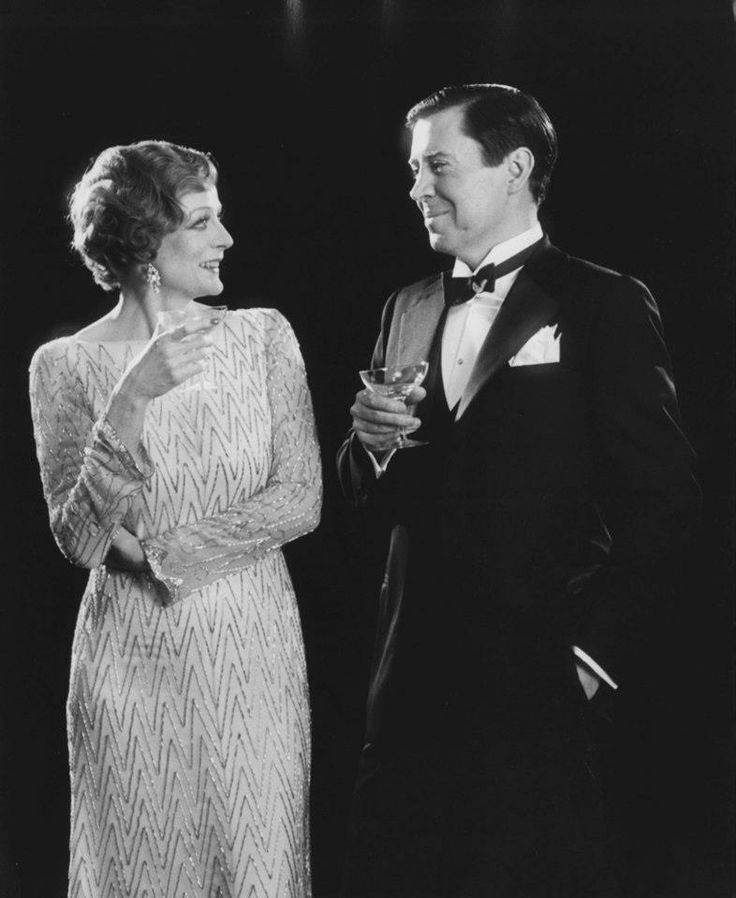 """Maggie Smith with Brian Bedford, """"Private Lives"""", Stratford, Ontario"""
