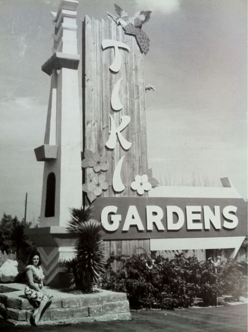 Tiki Gardens. I used to play w/ Alice the monkey here on saturday mornings. My Dad was friends with Frank the owner.
