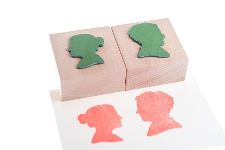 Our customized, natural rubber stamps
