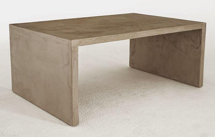 mesa microcemento arena