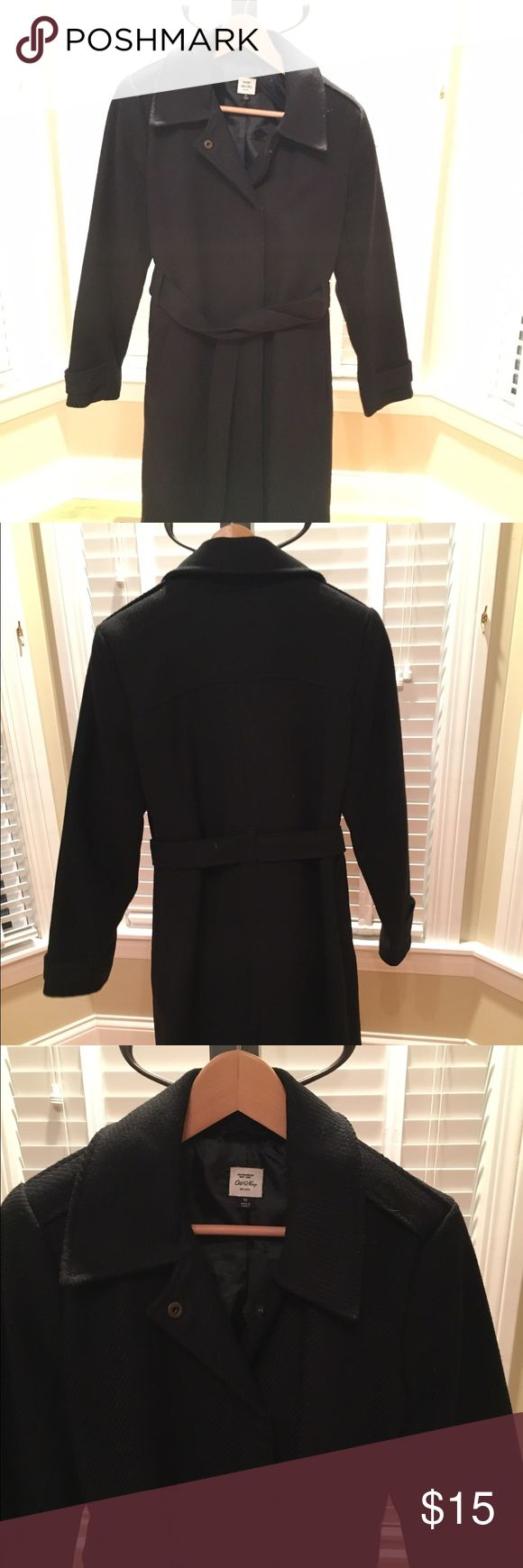 Long black coat Old Navy winter dress coat Jackets & Coats