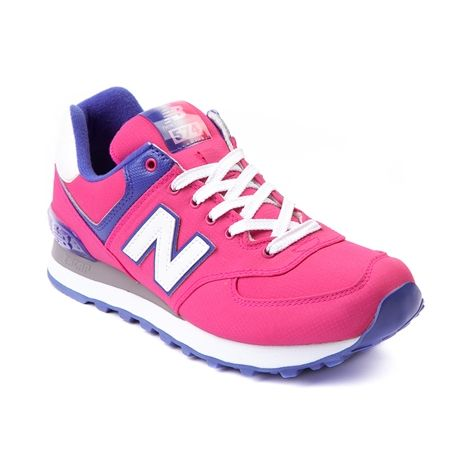 Womens New Balance 574 Athletic Shoe in Pink at Journeys Shoes. Available  for shipment in