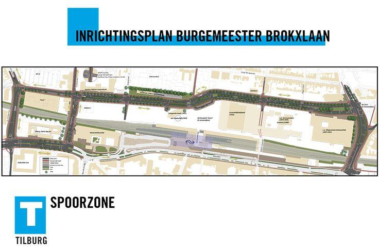 SPZ013 Inrichtingsplan Burgemeester Brokxlaan Spoorzone 013