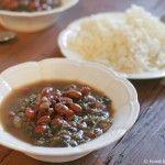 Ghormeh sabzi — Sephardi-Persian herb soup