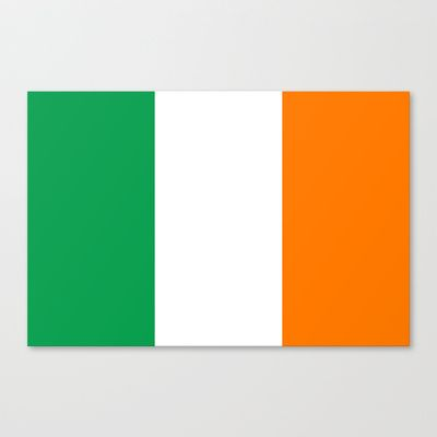 National flag of the Republic of Ireland - Authentic 3:5 Version Stretched Canvas by LonestarDesigns2020 - Flags Designs + - $85.00