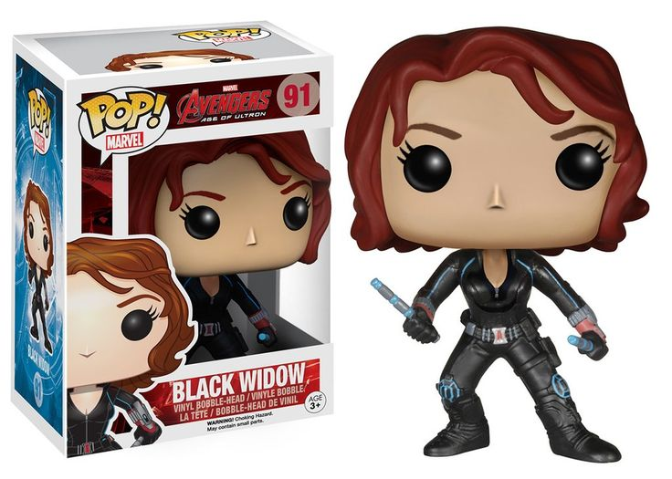 Pop! Marvel: Avengers 2 - Black Widow