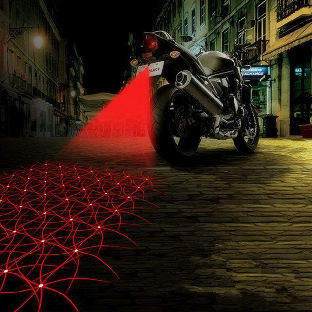 Motorcycle Accessories Taillight Auto Anti-collision Laser Fog Lamp Car Anti-fog #UnbrandedGeneric