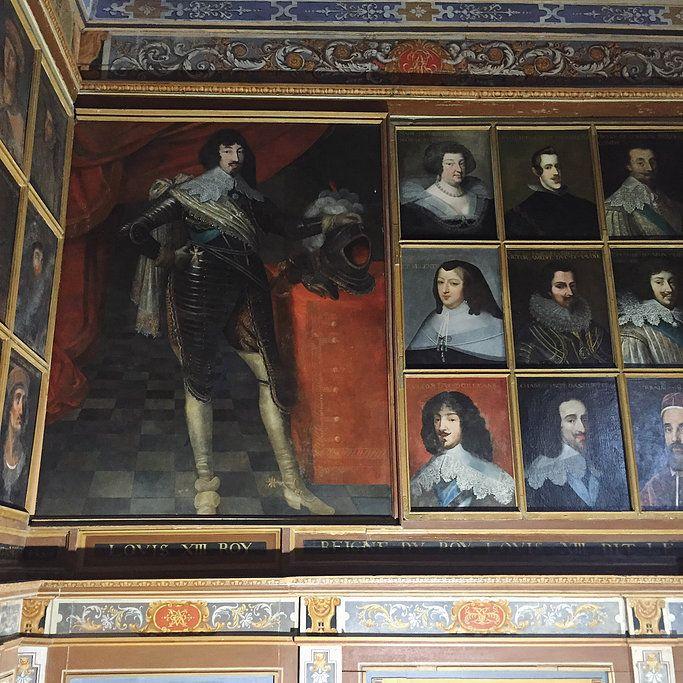 Ô Mon Château !   Le château de Beauregard & sa galerie des portraits