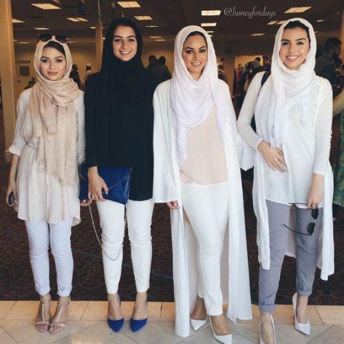 white neutral hijab- Hijab fashion guide 2016…