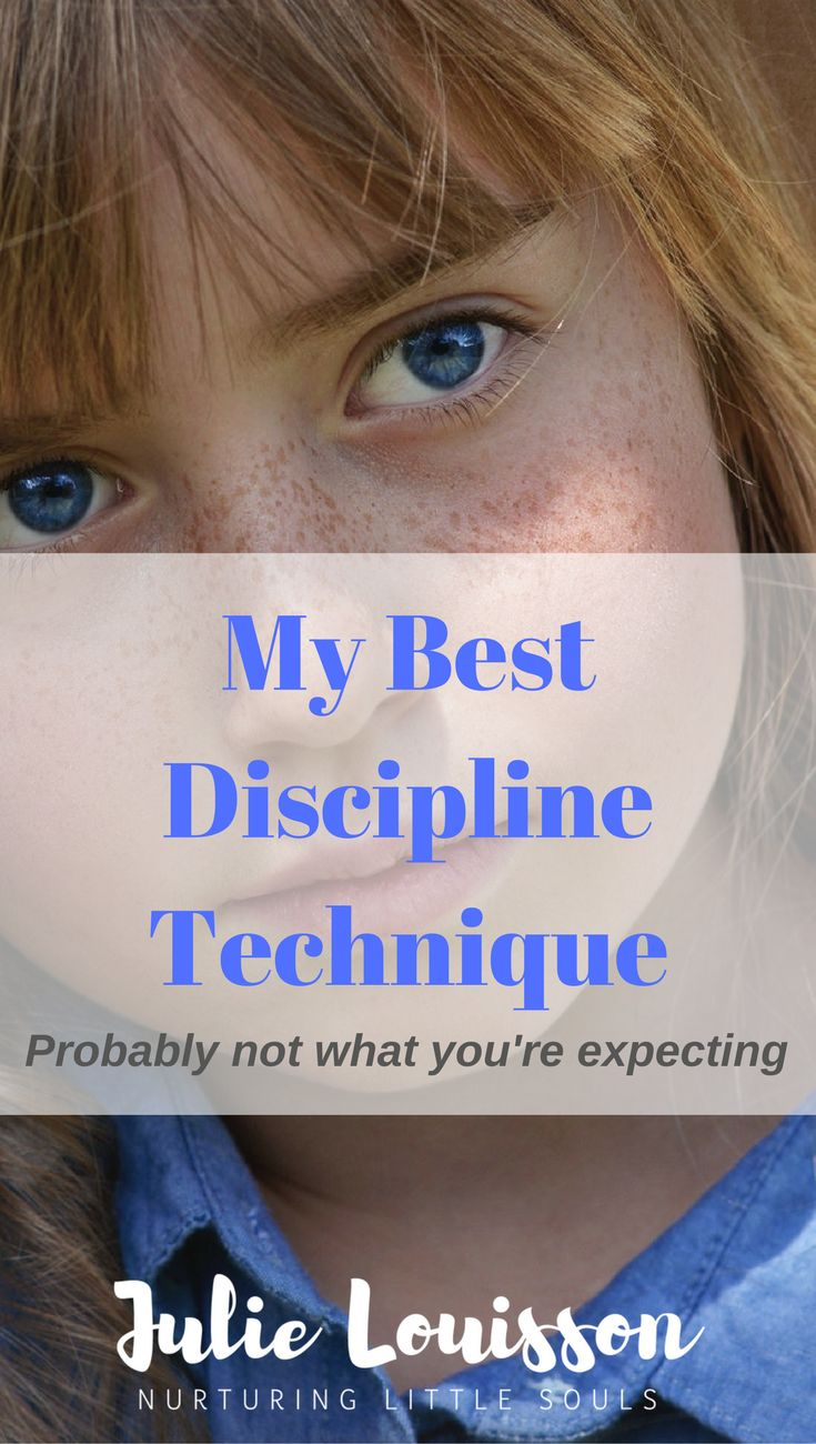 A respectful discipline technique to help you stop yelling at your kids #julielouisson #spiritualparenting #discipline