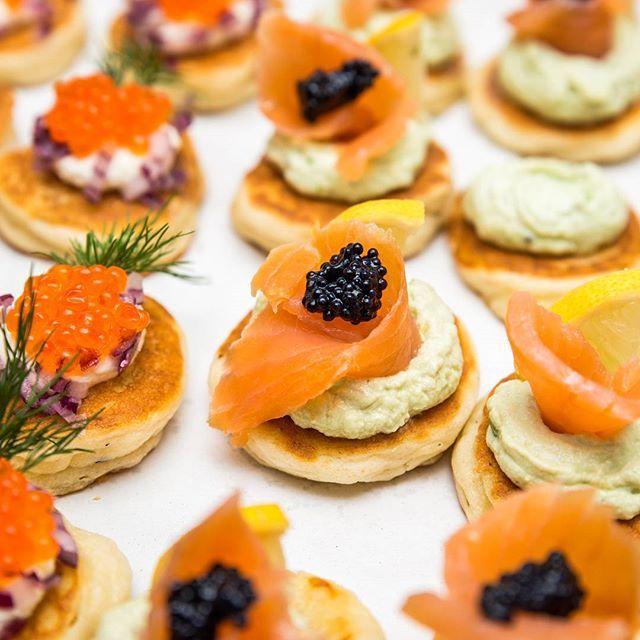 #delicious #appetizer #food #foodphotography #yummy #instafood #starter #smokedsalmon #caviar #party #foodporn #mariusdragnero