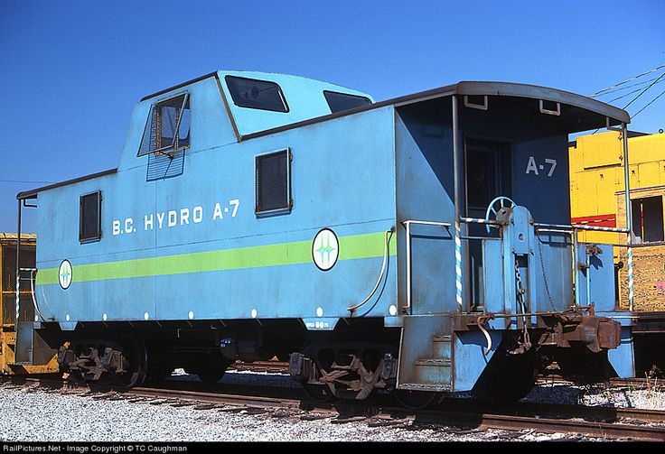 Photo BCH A7 BC Hydro Caboose at New