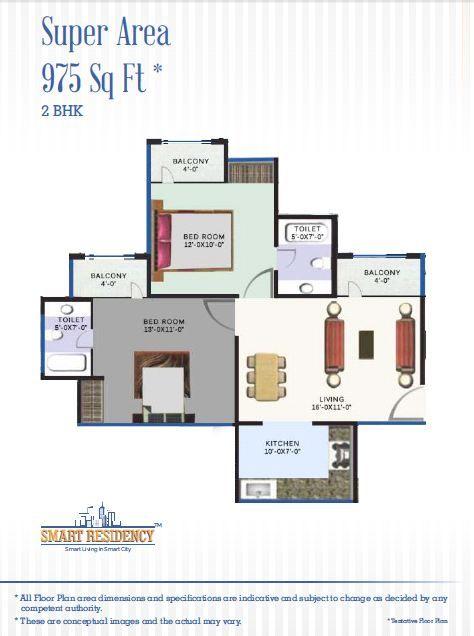 Revanta Smart city Floor Plan Dwarka Delhi