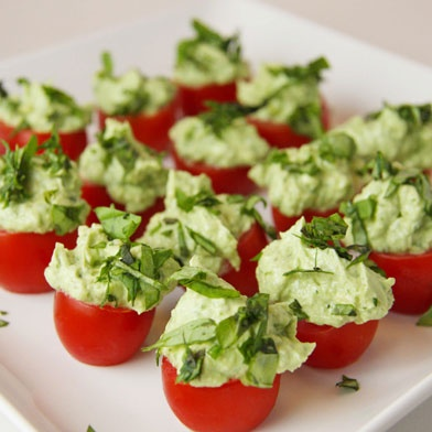 Tomato Pesto Bites