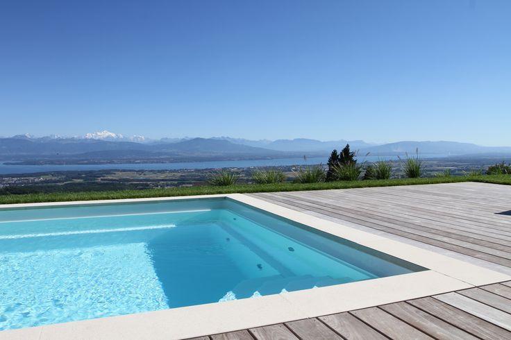 Een prachtig zwembadproject in Zwitserland met een DYNAMIC 110 zwembad van Starline.
