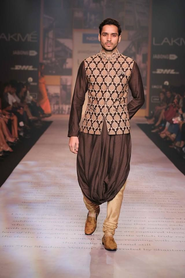 Suit by Shantanu & Nikhil. LFW 2014