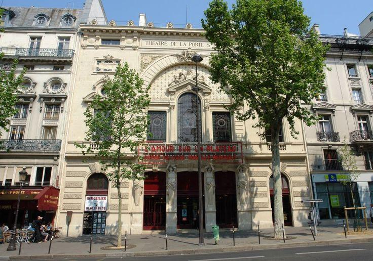 212 best images about paris 10e enclos st laurent on pinterest renaissance martin o 39 malley - Theatre porte saint martin ...
