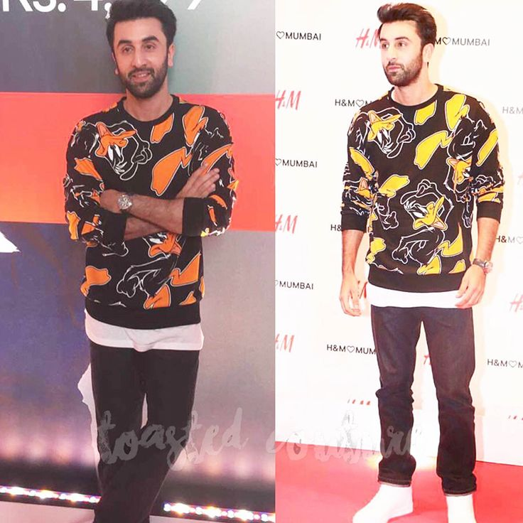Ranbir Kapoor spotted last night at the fashion party thrown by H&M…
