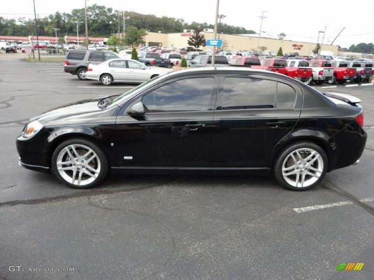 black Chevy Cobalt car