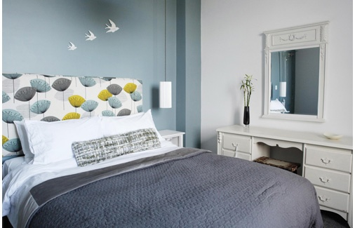 B Rooms | Bed and Breakfast in Falmouth, Cornwall | Superior King Double