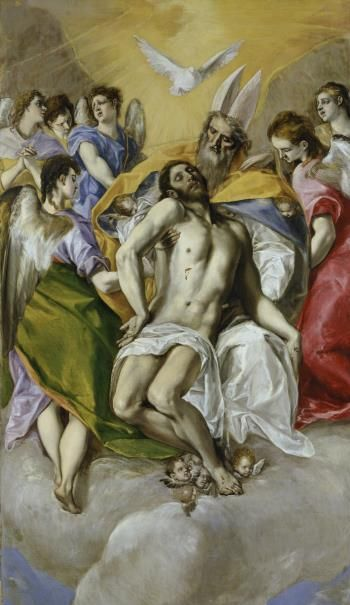 La Trinidad/ The Holy Trinity// 1577 - 1579// El Greco