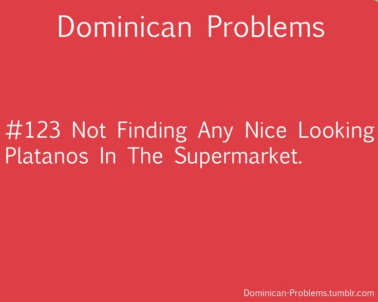 Dominican Problems: Photo