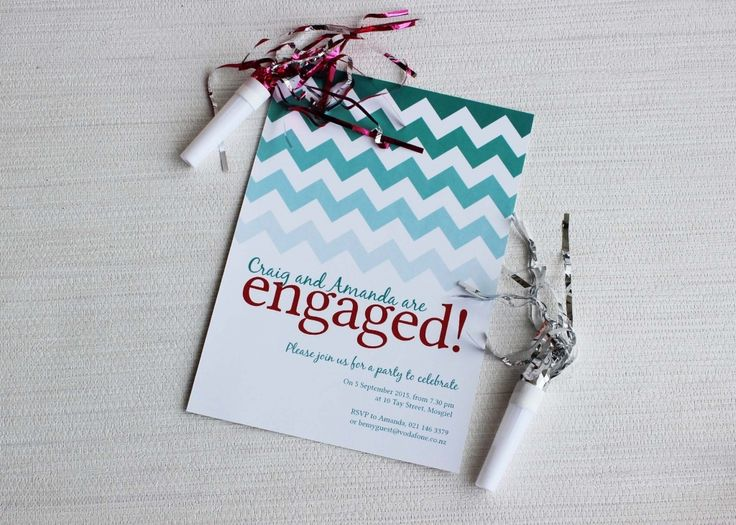 54 best engagement invitations images on Pinterest Engagement - engagement invitation cards templates