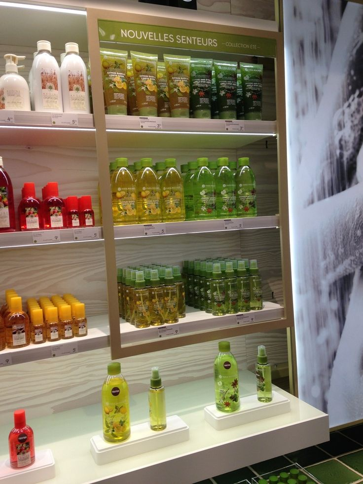 Visite guidée Yves Rocher (1/2) : un nouveau concept store très ... végétal Boulevard Haussmann - Blog Distribution de Philippe Vincent et l'Equipe R&D
