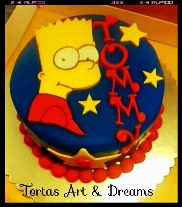 Torta Bart Simpson