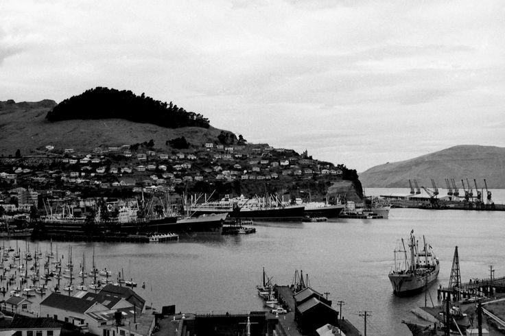 Lyttelton Port, New Zealand 1968