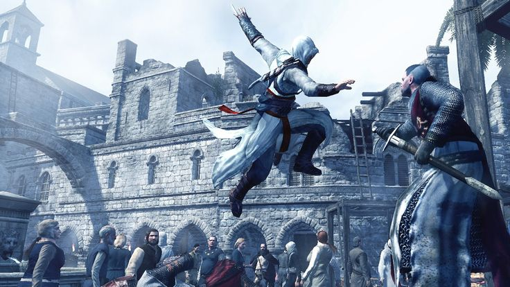 Assassin's Creed 1 PC Video Game Screenshot