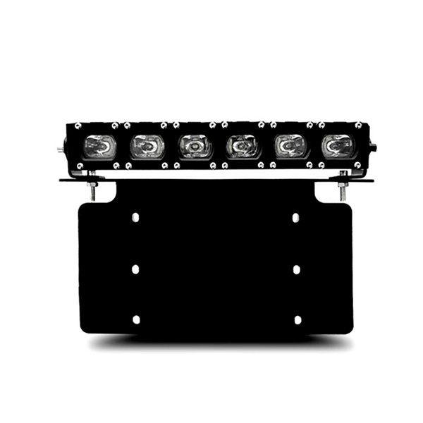 HID Vision Canada HVC - Universal Licence Plate Bracket with 30W Slim Single Row LED Light Bar, CAD $185.00 (http://www.hidvisioncanada.ca/products/universal-licence-plate-bracket-with-30w-slim-single-row-led-light-bar.html)