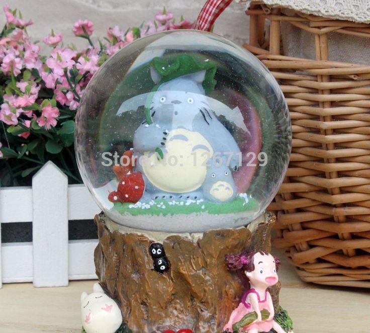 Купить товарПрекрасный тоторо хрустальный шар музыкальная шкатулка в категории Музыкальные шкатулкина AliExpress.           Мой сосед Тоторо снег хрустальный шар музыкальная шкатулка    $25.88