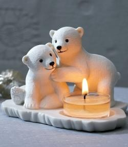 Polar Bear Babies Tealight Holder by PartyLite® Candles $10 (Reg 20.00) while supplies last