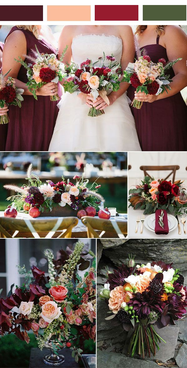 Best 20 wedding ideas for spring ideas on pinterest for Best wedding color combinations