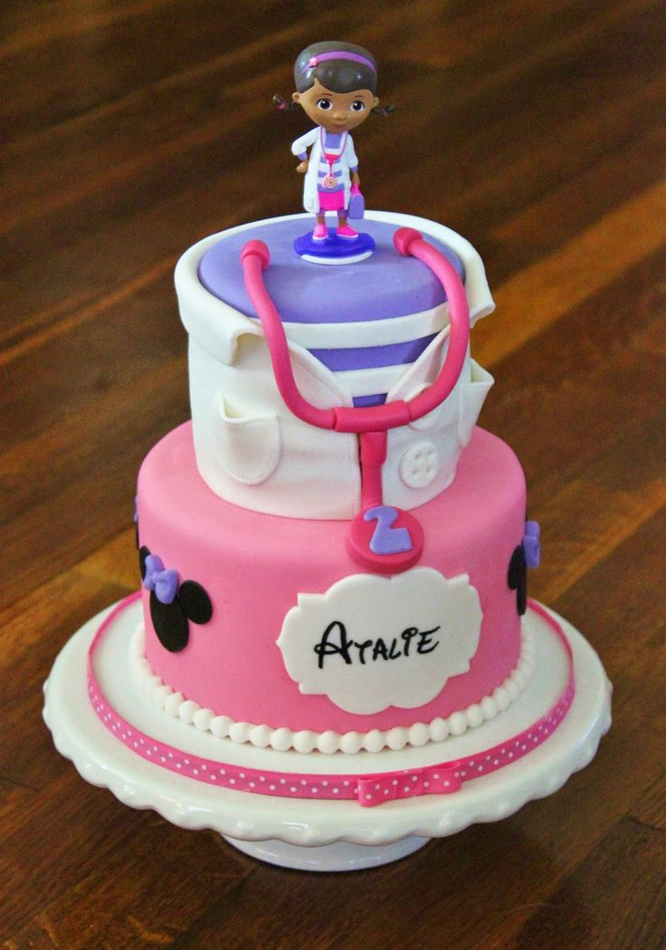 Doc Mcstuffins Minnie Mouse Birthday Cakes By Me