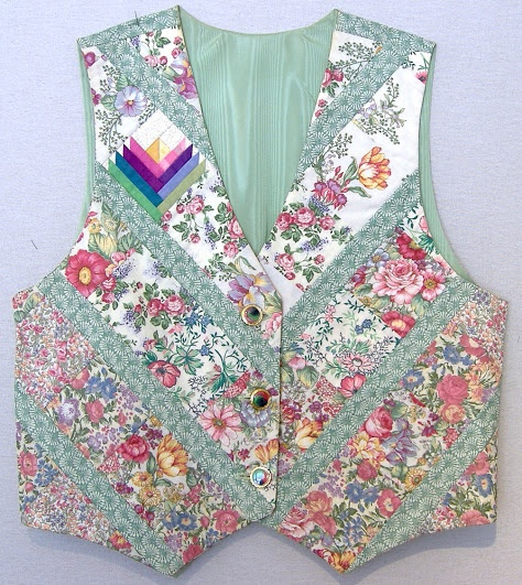 This is my favourite vest of Carol Doak