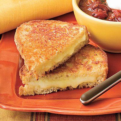 Extra Cheesy Grilled Cheese | MyRecipes
