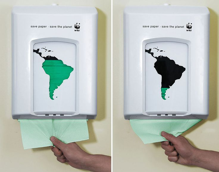 39 Of The Most Powerful Social Issue Ads That'll Make You Stop And Think. Save paper, save the planet, Copenhagen, Denmark