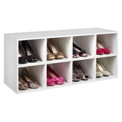 Target Closetmaid Shoe Organizer White Image Zoom