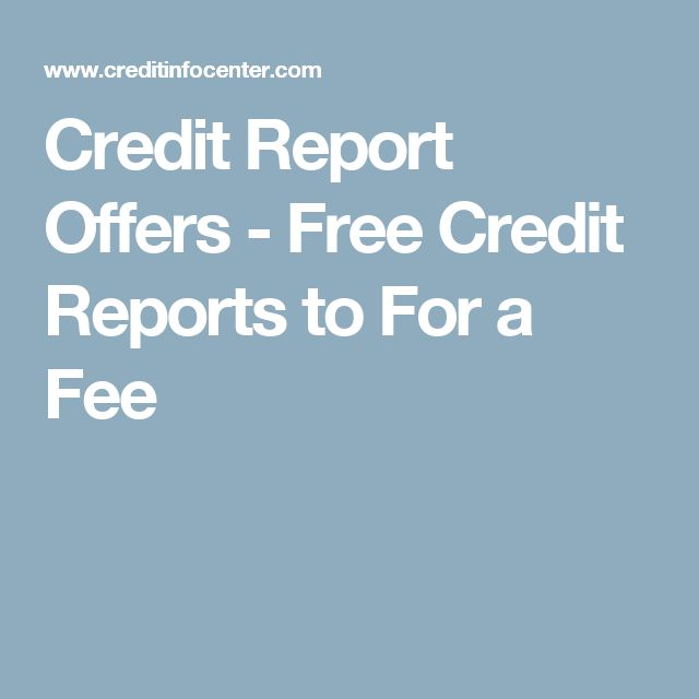 Best  Free Credit Report Ideas On   Free Credit