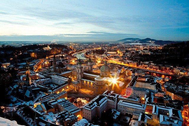 Город Зальцбург, Австрия - Путешествуем вместе
