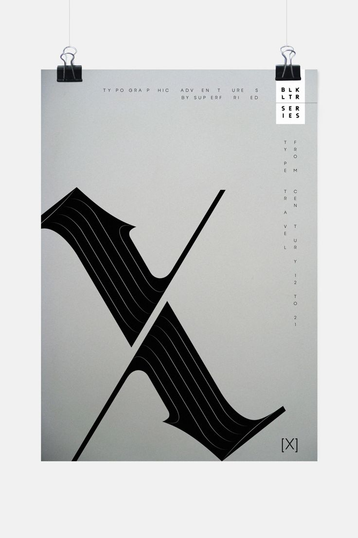 Black Letter Series - Typostrate