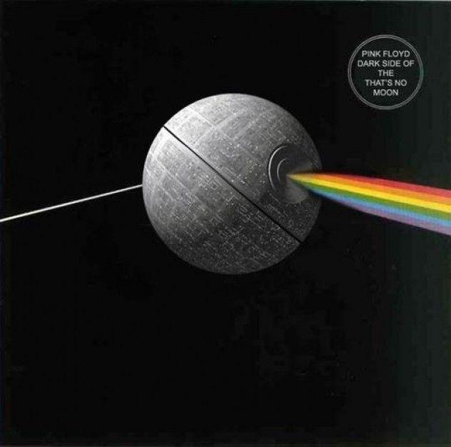 푸하하하하: Starwars Pinkfloyd, Death Star, Star Wars Art, Pink Floyd, Culture Pink, Stars Wars, Moon Pinkfloyd, Moon Starwars