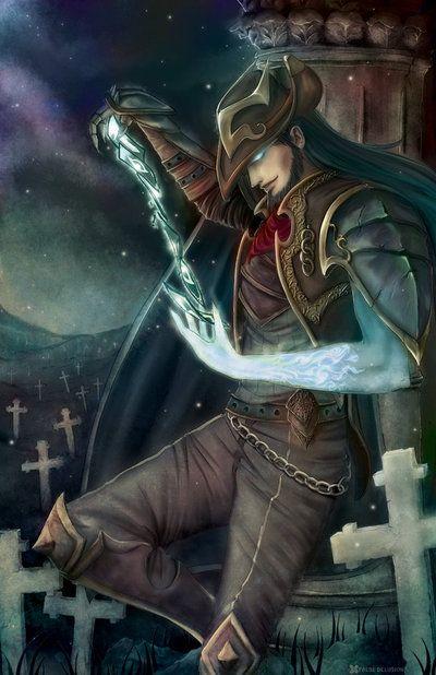 Twisted Fate | League of Legends Art @ http://xryz.net