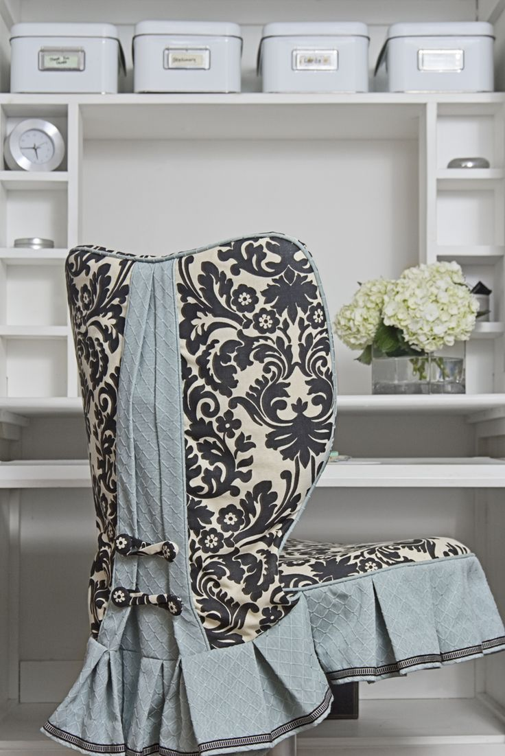 Office chair slipcovers - Desk Chair Slip Cover So Cute