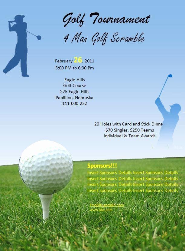 Golf Tournament Flyer Template Inspirational 7 Best Of Free Printable Menu Templates For Go Free Printable Menu Template Flyer Template Printable Menu Template